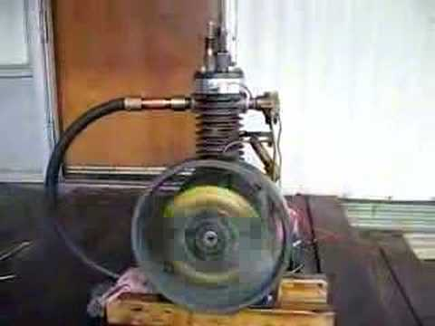 Home Made Hit and Miss Engine