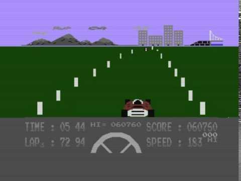 Formula 1 Simulator - Commodore 16 (plus 4)