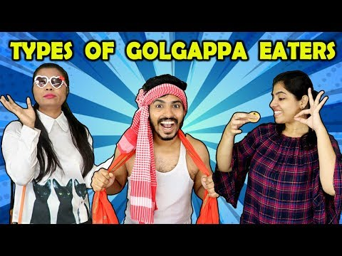 Types Of Golgappa Eaters | Funny Video | Hungry Birds