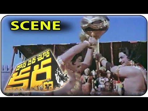 Video Duryodhana ( NTR ) & Bhima ( Kaikala Satyanarayana ) Fight Scene || Daana Veera Soora Karna download in MP3, 3GP, MP4, WEBM, AVI, FLV January 2017