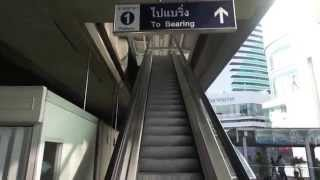 バンコク市内観光BTSスカイトレインの乗り方・1回券編