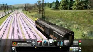 Крушение в Train Simulator 2013 или Митег угарает
