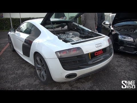 Heffnertwinturbo - I jump into the passenger seat of an 860hp Audi R8 V10 fitted with a Heffner Twin-Turbo system by QSTuning www.qstuning.com Even at fairly low speeds you can...