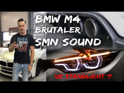 BMW M4 Competition mit einer SMN Abgasanlage zu laut? + Luftfahrwerk Simon Motorsport   #685