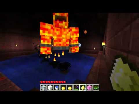 Minecraft: GOLD DUNGEON BOSS Aether Adventure Pt 13