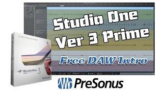 Video PreSonus Studio One v3 Prime, Free DAW - Introduction MP3, 3GP, MP4, WEBM, AVI, FLV Mei 2019