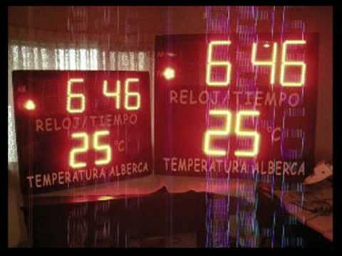 Microcontroladores PIC Display-Reloj Jumbo