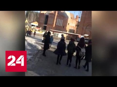 Обряд изгнания дьявола напугал школьников приехавших в монастырь - DomaVideo.Ru