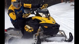 5. 2009 Ski-doo MXZ  on Lake Scugog in Port Perry - Speedfreaktv.com