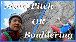 Milestone Bouldering / Idwal Trad Climbing by The Climbing Nomads