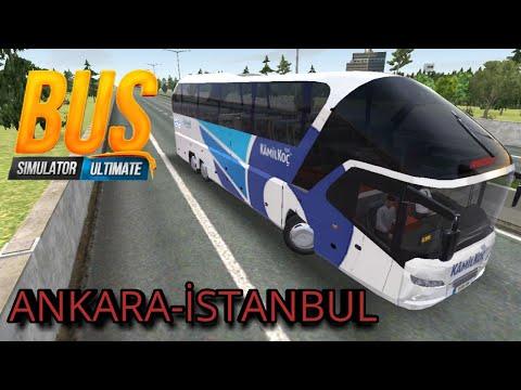 Türkiye Yollarındayız // BUS SUMİLATOR ULTİMATE // Ankara-İstanbul