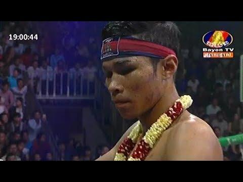 Long Somnang vs Namphon(laos), Khmer Boxing Bayon 11 Feb 2018, Kun Khmer vs Muay Thai
