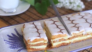 Le secret pour faire un mille-feuille facile