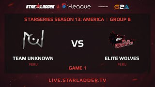 unknown.xiu vs Elite Wolves, game 1