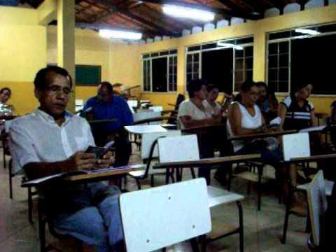 CURSO DE CANTICO EM  TARUMIRIM 2011