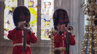 Video God Save the Queen - 85th Birthday of HM, Queen Elizabeth II at Westminster Abbey MP3, 3GP, MP4, WEBM, AVI, FLV Oktober 2017