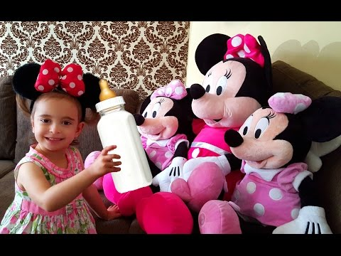Disney Minnie Mouse Care /Three Little Kittens Song