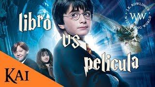 Harry Potter y la Piedra Filosofal - Libro vs Película