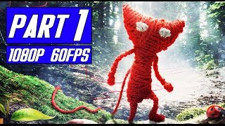 Unravel Part 1 No Commentary [1080p 60FPS] PS4 Gameplay, EA Games, video games