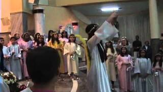 Coroação da imagem de Nossa Senhora, ocorrida no dia 28/05/2011 na paróquia Nossa Senhora do Carmo, em Araraquara-SP,...