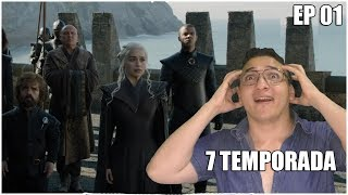 Game Of Thrones 7 Temporada Episódio 1, nova temporada de GOT, com John snow, Arya matando geral,white walkers ...