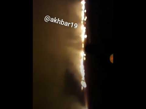 شاهد.. هجوم ايراني صاروخي على مواقع بسوريا