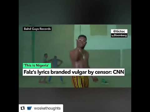 American talk about falz this is nigera
