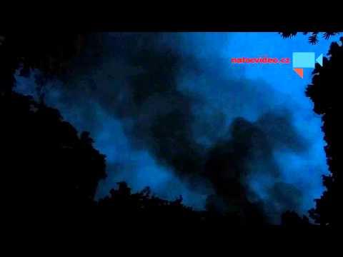 Požár Barrandov 2