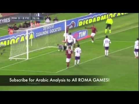 Magical Totti Skills CLIP 'Roma vs Fiorentina (4-2)' + HD GOALS on Naruto Theme Soundtrack