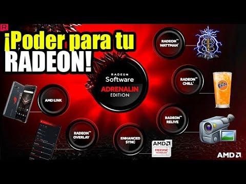 Sácale todo el PODER a tu tarjeta AMD con Radeon Software ADRENALIN edition - Droga Digital