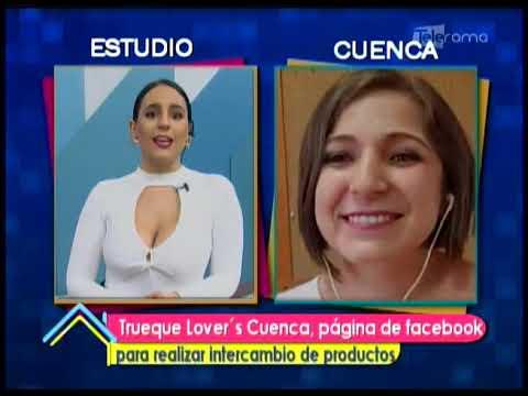 Trueque Lover's Cuenca, página de facebook nueva opción de negocio