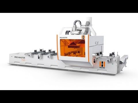 H CNC HOLZHER 5 Axis ProMaster 7100