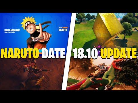 Season 8 NARUTO Skin RELEASE DATE! 18.10 BIGGEST Update, Sliding ABILITY Leak! Big Halloween UPDATE!