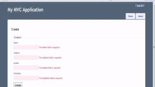 Database Programming in MVC 3 in 5 Minutes