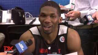 Trevor Mbakwe Draft Combine Interview
