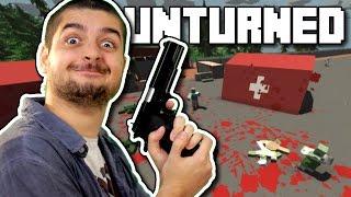 TENTANDO SOBREVIVER EM UNTURNED! (Dayz + Minecraft)