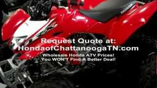 9. 2013 Honda TRX250X Sport ATV SALE at Honda of Chattanooga in TN - Walk Around Video