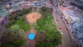 Vôo Sobre Praça de Palmas