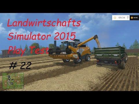 LS 15 Play Test #22 Bäume pflanzen und Wachstumszeit [german/deutsch]