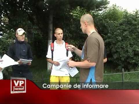 Campanie de informare