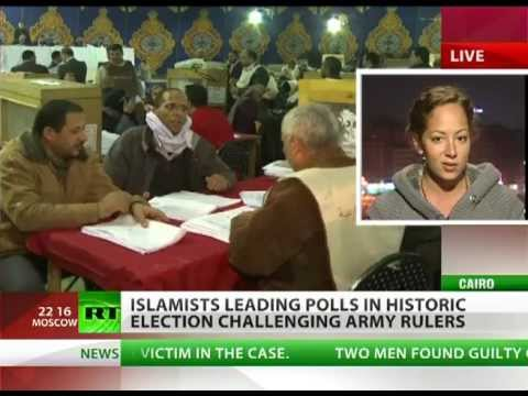 Islamist Muslim Brotherhood leads polls in Egypt