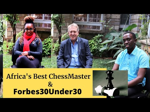Under 30 Chess Master – Candid with Forbes Top 30
