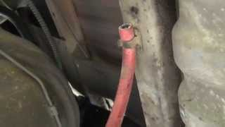 Ford F150 Axle Vent Hose Replacement