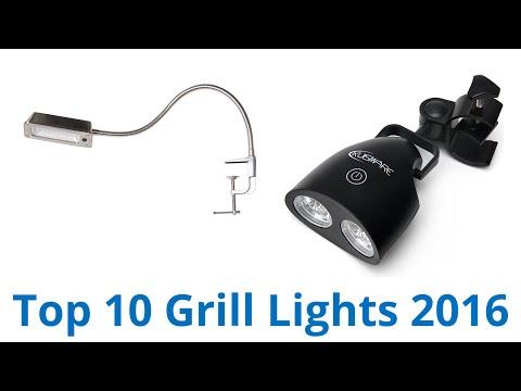 10 Best Grill Lights 2016