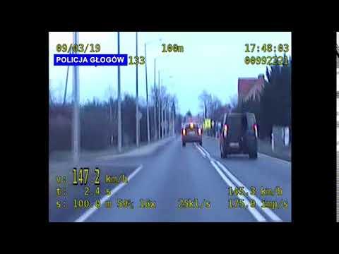 Wideo: W terenie zabudowanym kierowca Jeepa jechał z prędkością  147 km/h