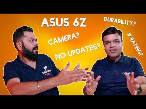 ASUS 6Z FAQ With Dinesh Sharma ⚡ Future Updates, Camera, Performance & More...