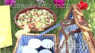 Salade paysanne à l'espagnole