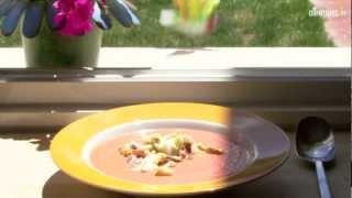 Salmojero (soupe espagnole de tomate froide)