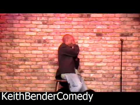 Comedian Keith Bender Playing with Audience