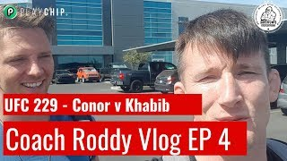 Video UFC 229 Conor v Khabib - Coach Roddy Vlog Episode 4 MP3, 3GP, MP4, WEBM, AVI, FLV Oktober 2018
